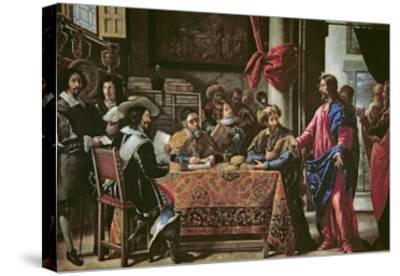 The Vocation of St. Matthew-Juan De Pareja-Stretched Canvas Print