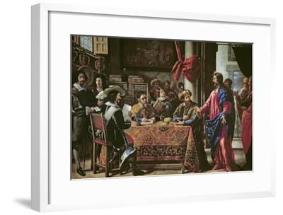 The Vocation of St. Matthew-Juan De Pareja-Framed Giclee Print