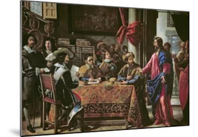 The Vocation of St. Matthew-Juan De Pareja-Mounted Giclee Print