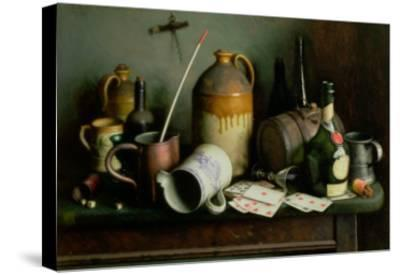 Foes in the Guise of Friends-Edward George Handel Lucas-Stretched Canvas Print