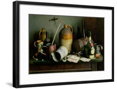Foes in the Guise of Friends-Edward George Handel Lucas-Framed Giclee Print