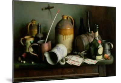 Foes in the Guise of Friends-Edward George Handel Lucas-Mounted Giclee Print