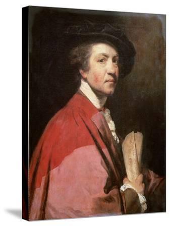 Self Portrait, 1775-Sir Joshua Reynolds-Stretched Canvas Print