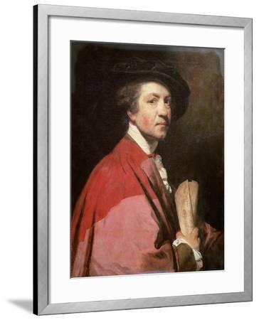 Self Portrait, 1775-Sir Joshua Reynolds-Framed Giclee Print