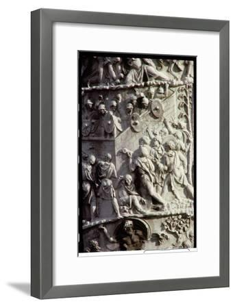 Trajan's Column, to Celebrate Victory over the Dacians, Designed by Apollodorus of Damascus, 113 Ad--Framed Giclee Print