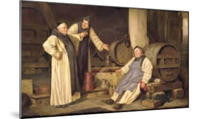 One Glass Too Many- Mariola-Mounted Giclee Print