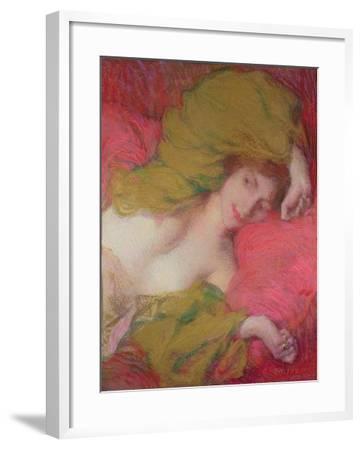 Farniente-Edmond-francois Aman-jean-Framed Giclee Print