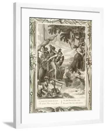 The Golden Fleece Won by Jason--Framed Giclee Print