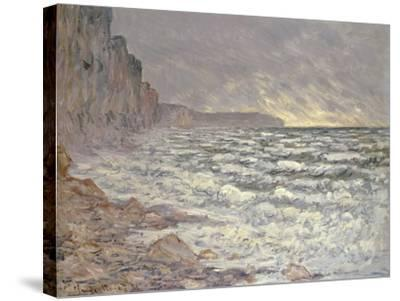 The Sea at Fecamp, 1881-Claude Monet-Stretched Canvas Print