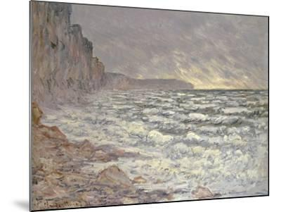 The Sea at Fecamp, 1881-Claude Monet-Mounted Giclee Print