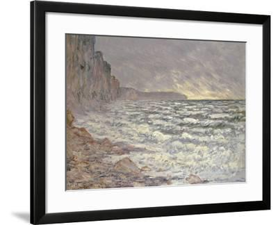 The Sea at Fecamp, 1881-Claude Monet-Framed Giclee Print