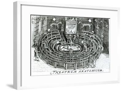 The Anatomy Theatre--Framed Giclee Print