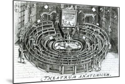 The Anatomy Theatre--Mounted Giclee Print
