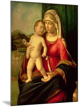 Madonna and Child-Giovanni Battista Cima Da Conegliano-Mounted Giclee Print