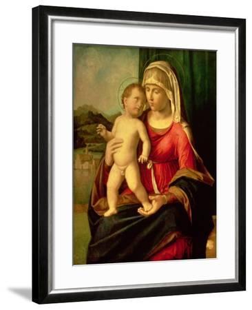 Madonna and Child-Giovanni Battista Cima Da Conegliano-Framed Giclee Print