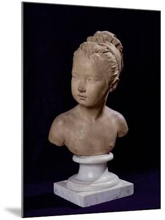 Bust of Louise Brongniart, 1777-Jean-Antoine Houdon-Mounted Giclee Print