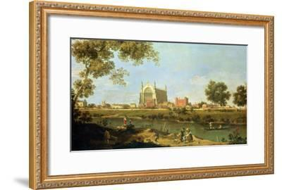 Eton College, c.1754-Canaletto-Framed Giclee Print