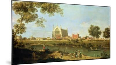 Eton College, c.1754-Canaletto-Mounted Giclee Print
