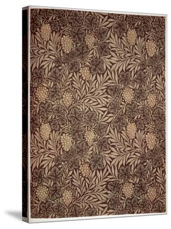 Vine Wallpaper Design, 1873-William Morris-Stretched Canvas Print