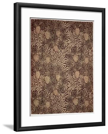 Vine Wallpaper Design, 1873-William Morris-Framed Giclee Print