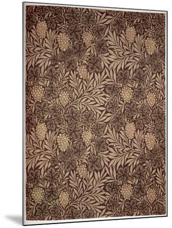 Vine Wallpaper Design, 1873-William Morris-Mounted Giclee Print