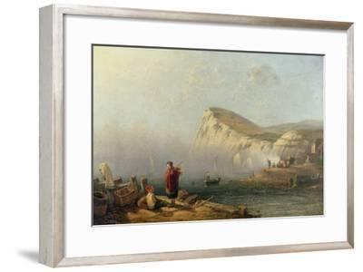 Beachy Head, 1850-John Wilson Carmichael-Framed Giclee Print