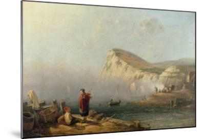 Beachy Head, 1850-John Wilson Carmichael-Mounted Giclee Print