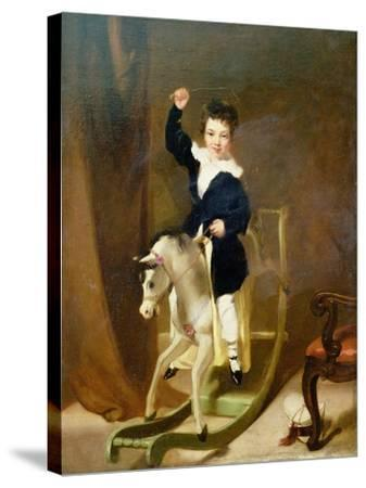 The Young Huntsman-George Chinnery-Stretched Canvas Print