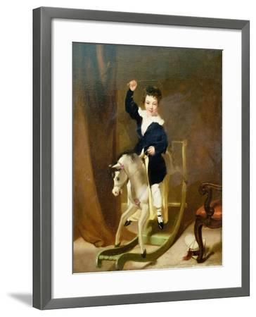 The Young Huntsman-George Chinnery-Framed Giclee Print