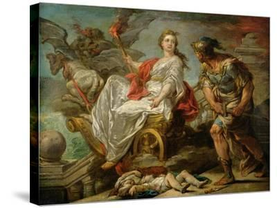 Jason and Medea, 1759-Carle van Loo-Stretched Canvas Print