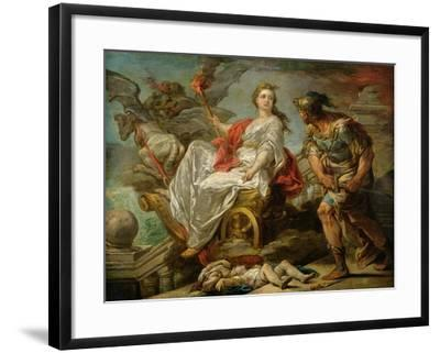 Jason and Medea, 1759-Carle van Loo-Framed Giclee Print