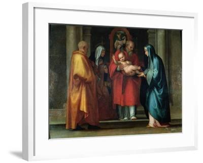 Presentation in the Temple-Fra Bartolommeo-Framed Giclee Print