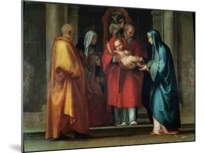 Presentation in the Temple-Fra Bartolommeo-Mounted Giclee Print