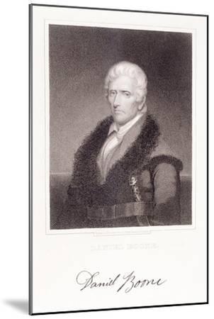 Daniel Boone-Chester Harding-Mounted Giclee Print