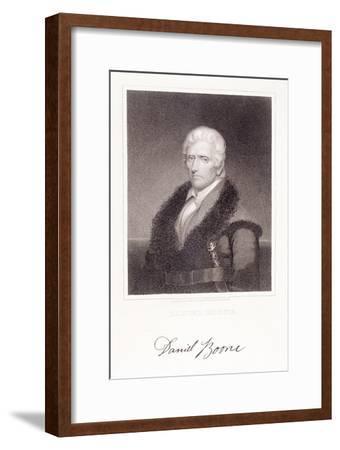 Daniel Boone-Chester Harding-Framed Giclee Print