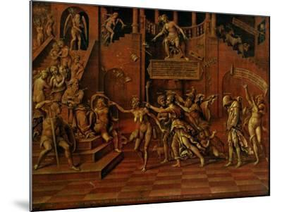 Allegory of Slander Or, Allegory of Fortune-Lorenzo Leonbruno-Mounted Giclee Print
