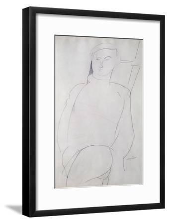 Jacques Lipchitz-Amedeo Modigliani-Framed Giclee Print
