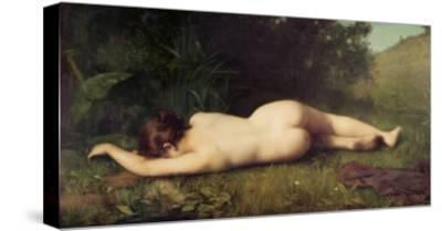 Byblis Turning Into a Spring-Jean-Jacques Henner-Stretched Canvas Print