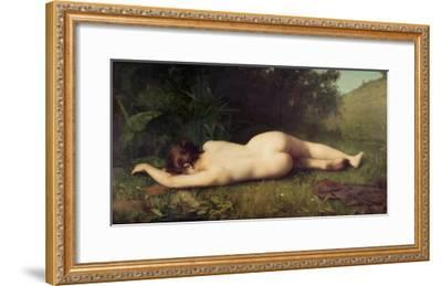 Byblis Turning Into a Spring-Jean-Jacques Henner-Framed Giclee Print