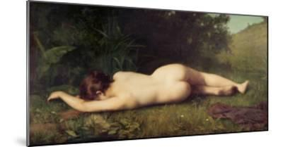 Byblis Turning Into a Spring-Jean-Jacques Henner-Mounted Giclee Print