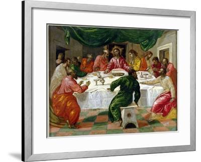 The Last Supper, 1567-70-El Greco-Framed Giclee Print