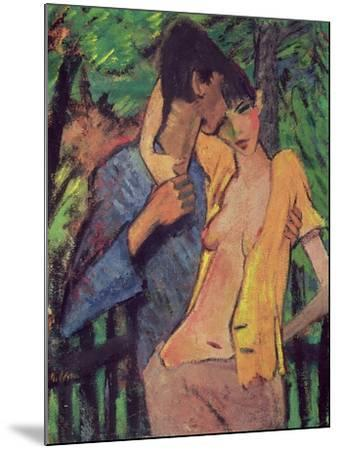 Lovers-Otto Mueller-Mounted Giclee Print