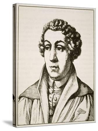 Portrait of Johann Reuchlin--Stretched Canvas Print