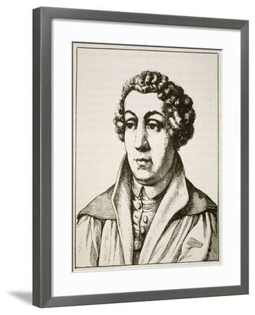 Portrait of Johann Reuchlin--Framed Giclee Print