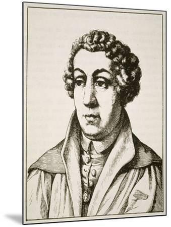Portrait of Johann Reuchlin--Mounted Giclee Print