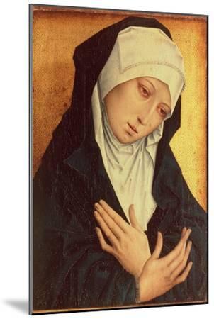 Mater Dolorosa-Rogier van der Weyden-Mounted Giclee Print