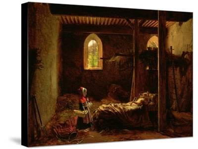 Little Red Riding Hood, c.1820-Fleury Francois Richard-Stretched Canvas Print