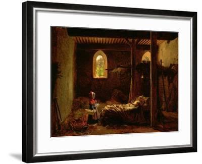 Little Red Riding Hood, c.1820-Fleury Francois Richard-Framed Giclee Print