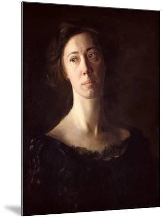 Portrait of Clara J. Mather-Thomas Cowperthwait Eakins-Mounted Giclee Print