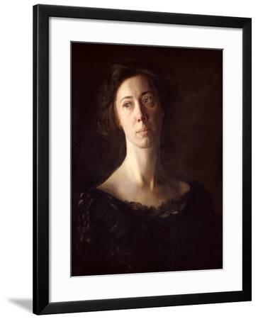 Portrait of Clara J. Mather-Thomas Cowperthwait Eakins-Framed Giclee Print